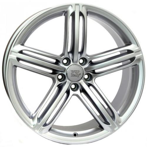 Купить диски WSP Italy Audi (W560) Pompei R17 5x112 j8.0 ET40 DIA57.1 silver