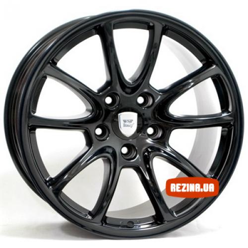 Купить диски WSP Italy Porsche (W1052) Corsair R19 5x130 j12.0 ET51 DIA71.6 Black