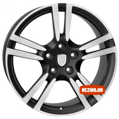Купить диски WSP Italy Porsche (W1054) Saturn R20 5x130 j9.0 ET60 DIA71.6 black polished