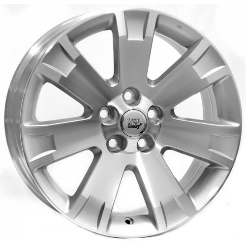 Купить диски WSP Italy Mitsubishi (W3004) Poseidone R19 5x114.3 j8.0 ET38 DIA67.1 SILVER POLISHED