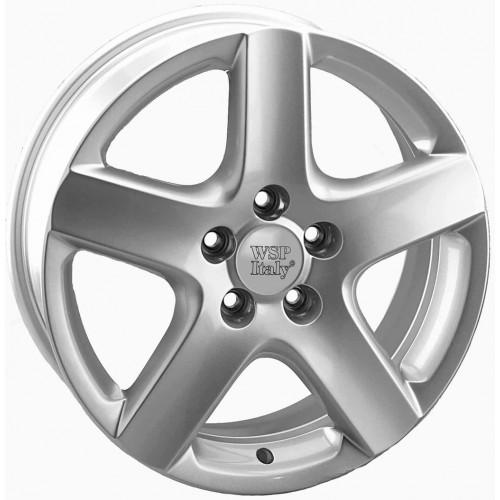 Купить диски WSP Italy Volkswagen (W436) Ravello R17 5x100 j7.0 ET42 DIA57.1 silver