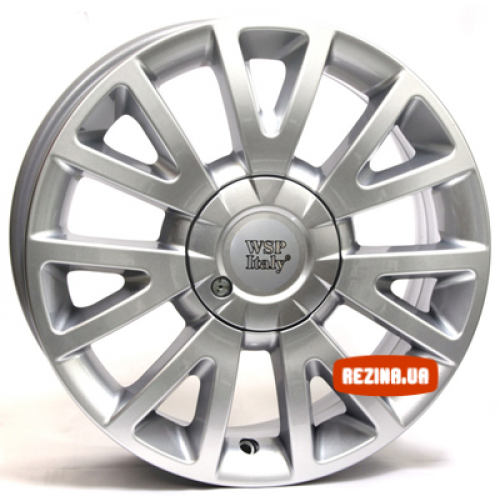 Купить диски WSP Italy Renault (W3303) Assen Clio R17 4x100 j7.0 ET38 DIA60.1 hyper silver