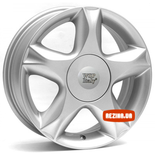 Купить диски WSP Italy Renault (W3304) Nantes R15 4x100 j6.0 ET40 DIA60.1 silver