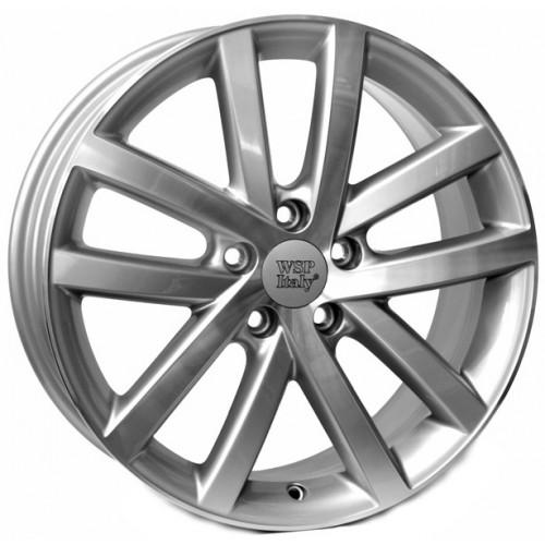 Купить диски WSP Italy Volkswagen (W460) Rheia R16 5x112 j6.5 ET42 DIA57.1 SILVER POLISHED