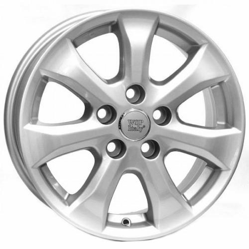 Купить диски WSP Italy Toyota (W1755) Romagnano R16 5x114.3 j6.5 ET45 DIA60.1 silver
