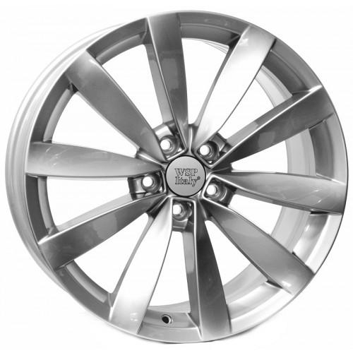 Купить диски WSP Italy Volkswagen (W457) Rostock R18 5x112 j8.0 ET41 DIA57.1 silver