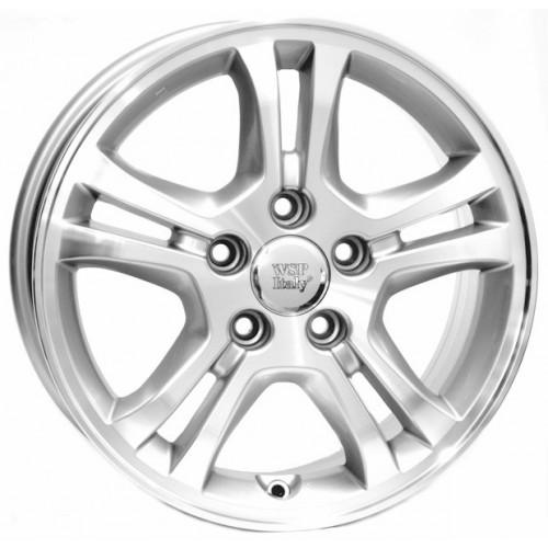Купить диски WSP Italy Honda (W2403) Salerno R16 5x114.3 j6.5 ET55 DIA64.1 SILVER POLISHED