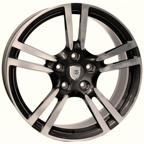 Купить диски WSP Italy Porsche (W1054) Saturn R19 5x130 j10.0 ET61 DIA71.6 ANTHRACITE POLISHED