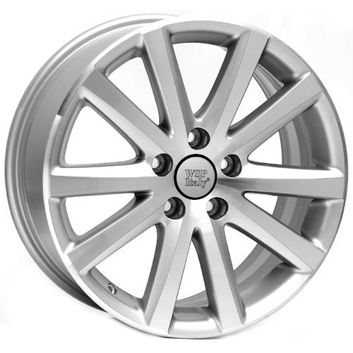 Купить диски WSP Italy Volkswagen (W442) Sparta R16 5x112 j7.0 ET42 DIA57.1 SILVER POLISHED