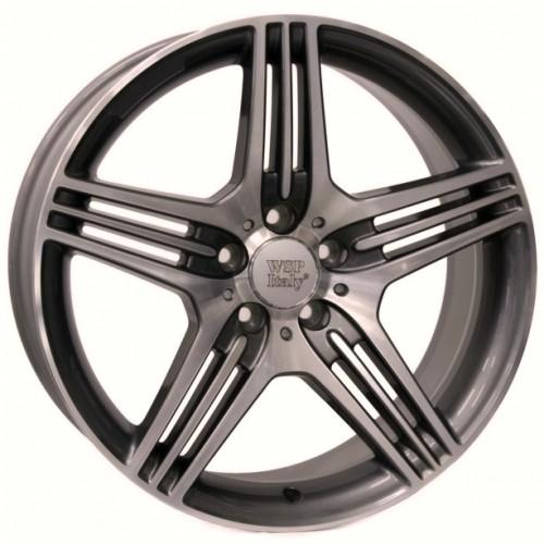 Купить диски WSP Italy Mercedes (W768) Stromboli R18 5x112 j8.5 ET30 DIA66.6 ANTHRACITE POLISHED