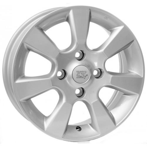 Купить диски WSP Italy Nissan (W1852) Tiida R15 4x100 j5.5 ET40 DIA54.1 silver