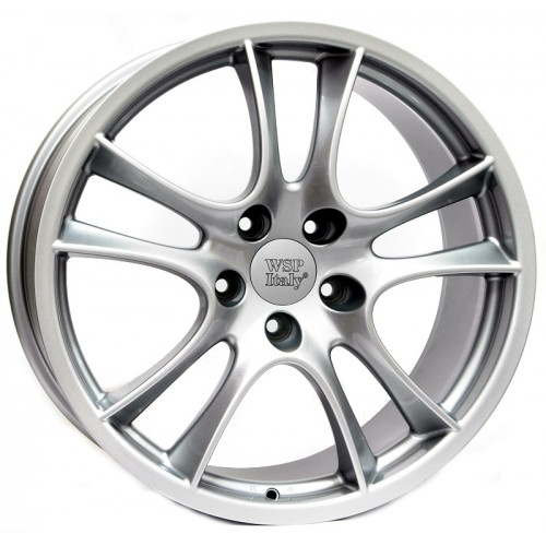 Купить диски WSP Italy Porsche (W1051) Tornado R20 5x130 j9.0 ET60 DIA71.6 silver