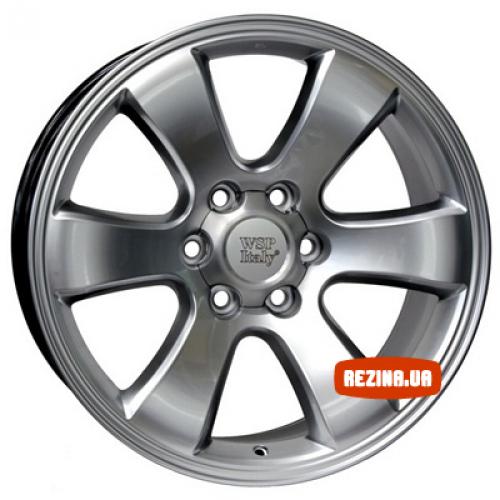 Купить диски WSP Italy Toyota (W1707) Yokohama Prado R20 6x139.7 j9.5 ET30 DIA106.1 HS