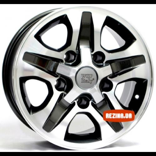Купить диски WSP Italy Toyota (W1751) Cesare R16 5x150 j8.0 ET0 DIA110.1 ANTHRACITE POLISHED