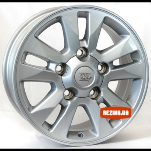 Купить диски WSP Italy Toyota (W1758) Jeddah R17 5x150 j8.0 ET60 DIA110.1 silver