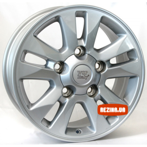 Купить диски WSP Italy Toyota (W1759) Brasil R18 5x150 j8.0 ET60 DIA110.1 silver