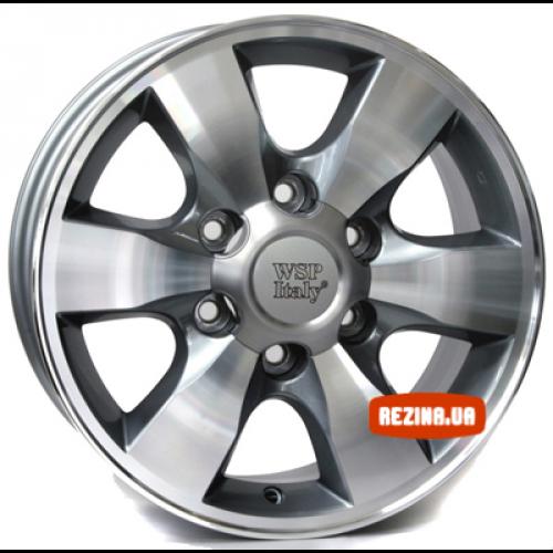 Купить диски WSP Italy Toyota (W1760) Sapporo R16 6x139.7 j7.0 ET30 DIA106.1 ANTHRACITE POLISHED