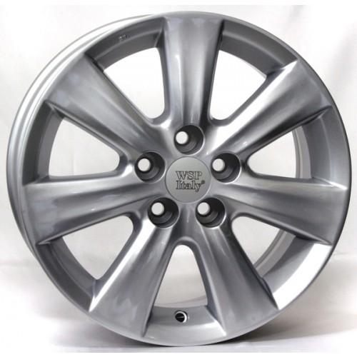 Купить диски WSP Italy Toyota (W1762) Nemuro R15 5x100 j6.0 ET33 DIA54.1 silver