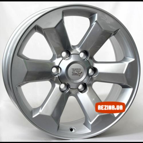 Купить диски WSP Italy Toyota (W1764) Scario R18 6x139.7 j7.5 ET25 DIA106.1 silver