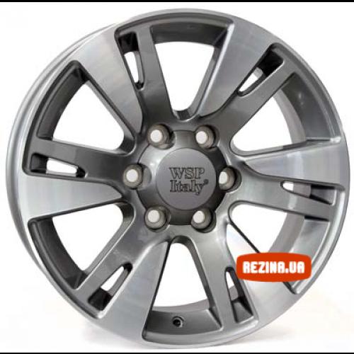 Купить диски WSP Italy Toyota (W1765) Venere R20 6x139.7 j9.5 ET20 DIA106.1 ANTHRACITE POLISHED