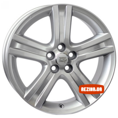 Купить диски WSP Italy Toyota (W1767) Livorno R17 5x100 j7.0 ET39 DIA54.1 silver