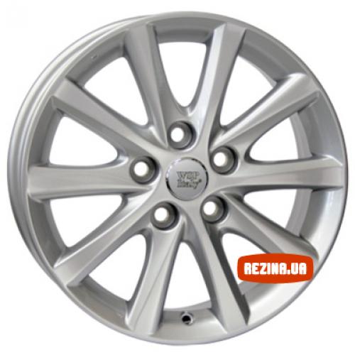 Купить диски WSP Italy Toyota (W1769) Vicenza R16 5x114.3 j6.5 ET45 DIA60.1 silver