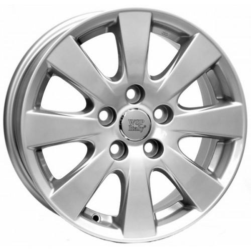 Купить диски WSP Italy Toyota (W1754) Tripoli R16 5x114.3 j6.5 ET45 DIA60.1 silver