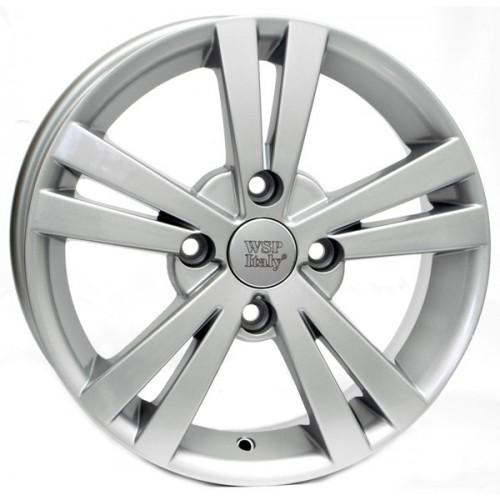 Купить диски WSP Italy Chevrolet (W3602) Tristano R15 4x100 j6.0 ET44 DIA56.6 silver