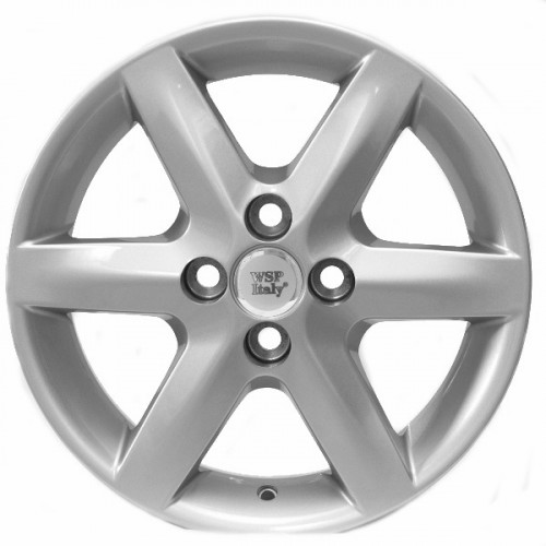 Купить диски WSP Italy Toyota (W1713) Troy R15 4x100 j6.5 ET35 DIA54.1 silver