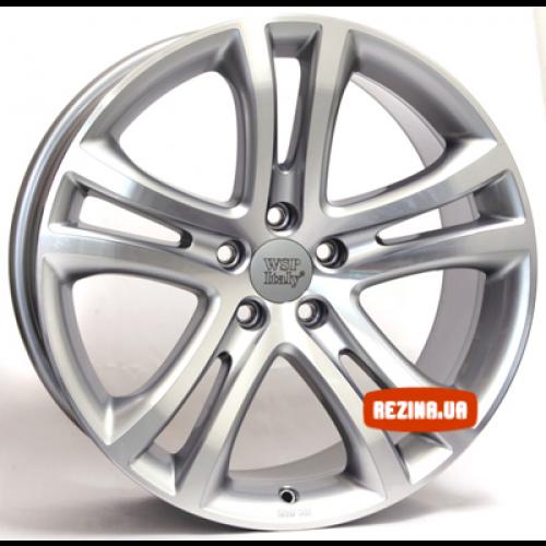 Купить диски WSP Italy Volkswagen (W455) Tiguan Vulcano R19 5x112 j9.0 ET33 DIA57.1 SILVER POLISHED
