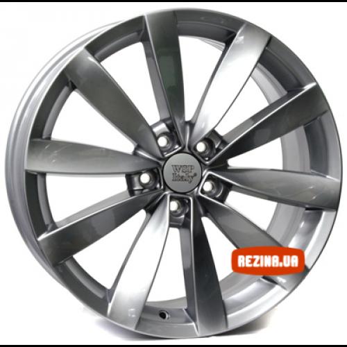 Купить диски WSP Italy Volkswagen (W457) Rostock R18 5x112 j8.0 ET41 DIA57.1 Black