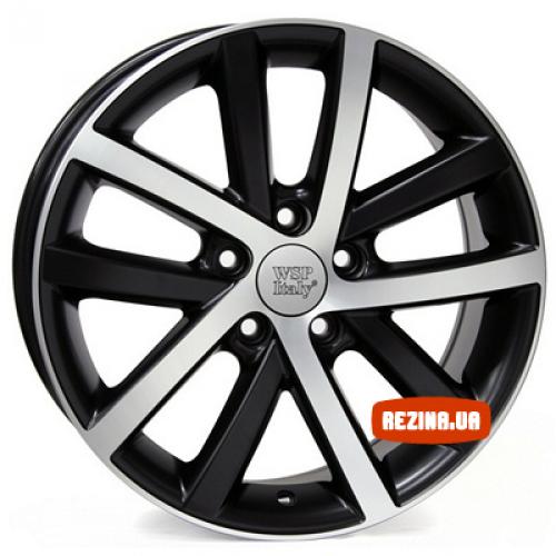 Купить диски WSP Italy Volkswagen (W460) Rheia R16 5x112 j6.5 ET50 DIA57.1 black polished