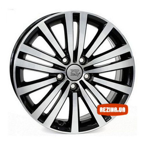 Купить диски WSP Italy Volkswagen (W462) Altair R17 5x112 j7.5 ET47 DIA57.1 glossy black polished