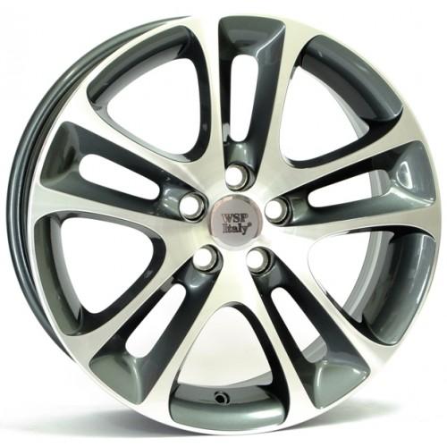 Купить диски WSP Italy Volvo (W1255) C30 Night R18 5x108 j7.5 ET52.5 DIA65.1 ANTHRACITE POLISHED