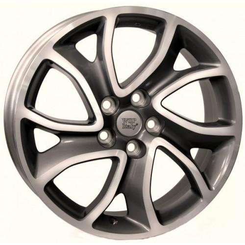 Купить диски WSP Italy Citroen (W3404) Yonne R18 5x114.3 j7.0 ET38 DIA67.1 ANTHRACITE POLISHED