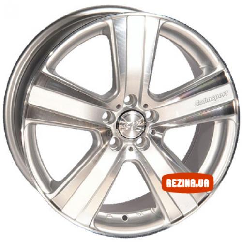 Купить диски ZW 462 R17 5x120 j7.5 ET40 DIA74.1 SP