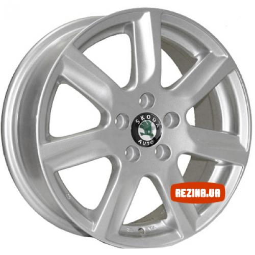 Купить диски ZW 7314 R15 5x100 j6.0 ET40 DIA57.1 silver