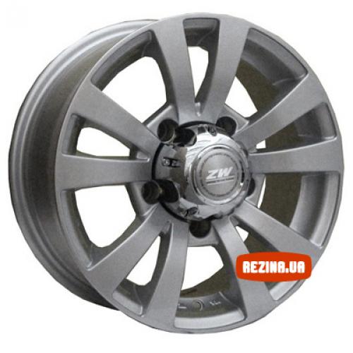 Купить диски ZW 740 R15 5x139.7 j6.5 ET20 DIA110.5 silver