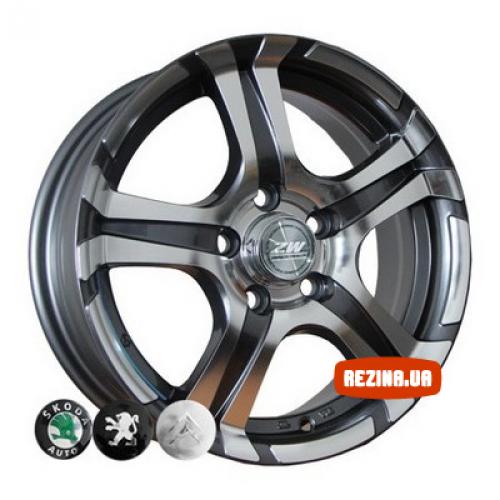 Купить диски ZW 745 R14 4x108 j5.5 ET25 DIA65.1 EP