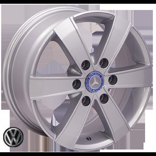 Купить диски ZW BK474 R16 6x130 j7.0 ET60 DIA84.1 silver