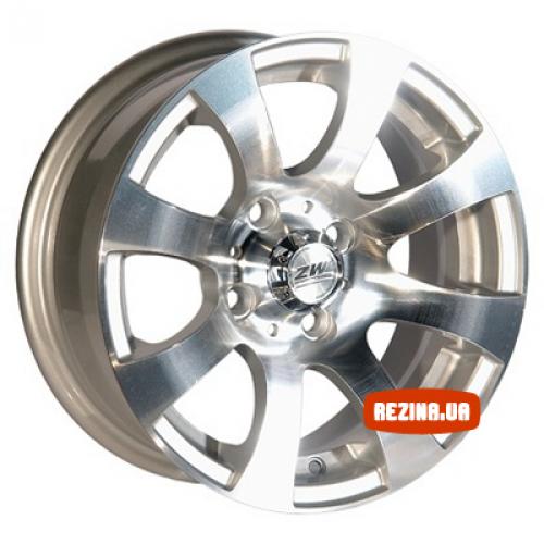 Купить диски ZW D803 R13 4x98 j5.5 ET10 DIA58.6 MS