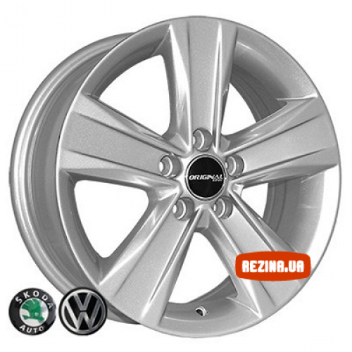 Купить диски ZY 5125 R15 5x112 j6.0 ET38 DIA57.1 silver