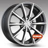 Купить диски Racing Wheels H-536 R15 5x110 j6.5 ET35 DIA65.1 DDN-F/P