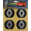 Комплект эмблем Renault для колпаков