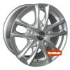 Купить диски ZW 9507 R15 5x139.7 j6.5 ET40 DIA98.5 silver